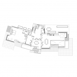 Contemporary house floor plan CAD drawing | Architectural CAD blocks on working drawing floor plans, cad window drawings, architectural house floor plans, cad building house plans,