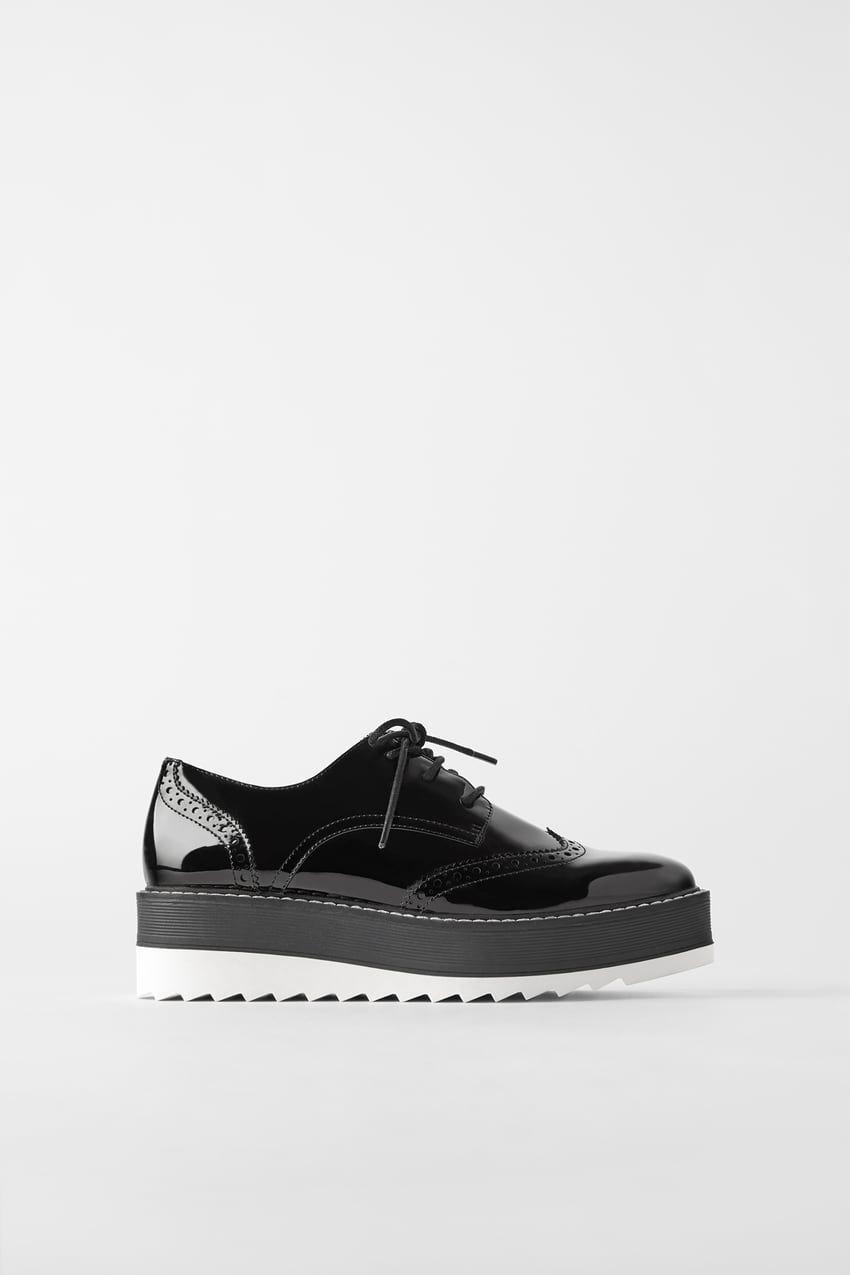 Flat Platform Derby Shoes Zara United States Derby Shoes Women Shoes Online Dress Shoes Womens Flats