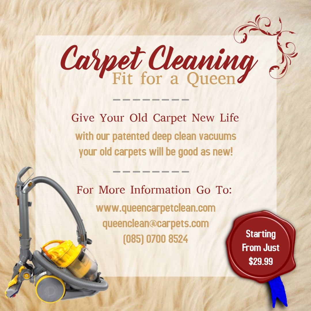 Professional Carpet Cleaning Social Media Advert Template Cleaning
