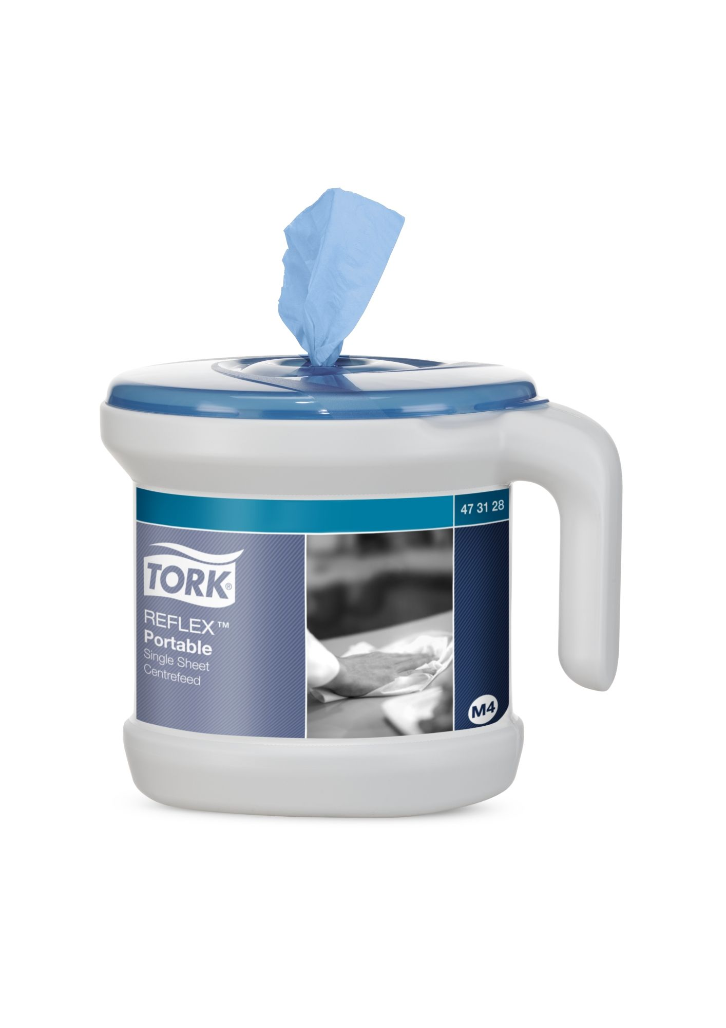 Tork Reflex Portable Centrefeed Dispenser System The Portable