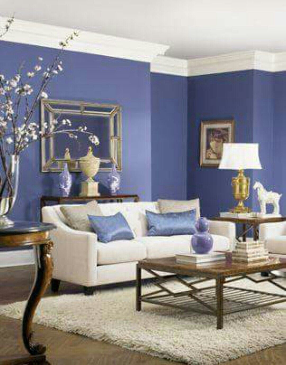 This is the color i so wanted in my bedroom think the cat fur will look good on it