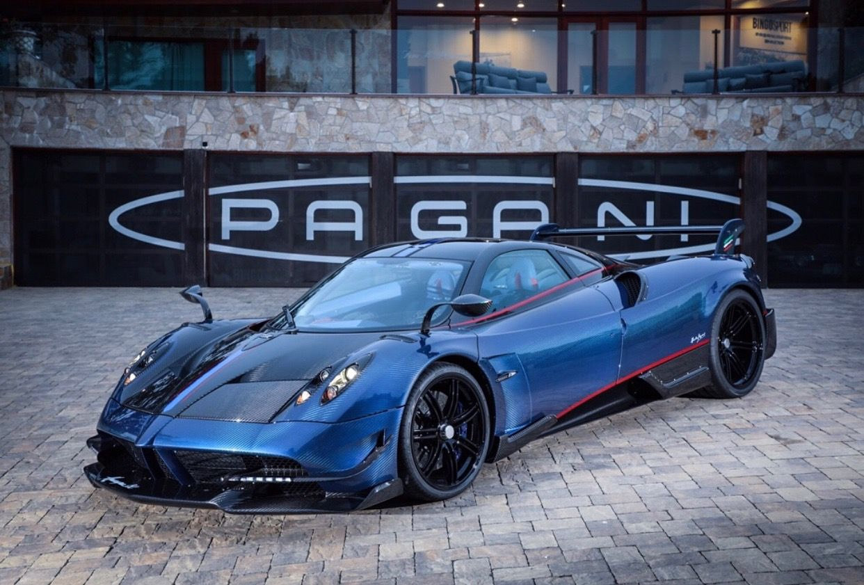 pagani huayra bc made out of exposed blue black carbon fiber w rh pinterest com