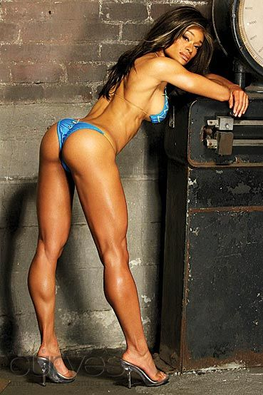 Muscle black women extreme pics