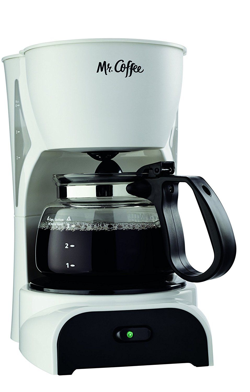 Mr. Coffee DR4MC 4Cup Coffeemaker, White *** Quickly view
