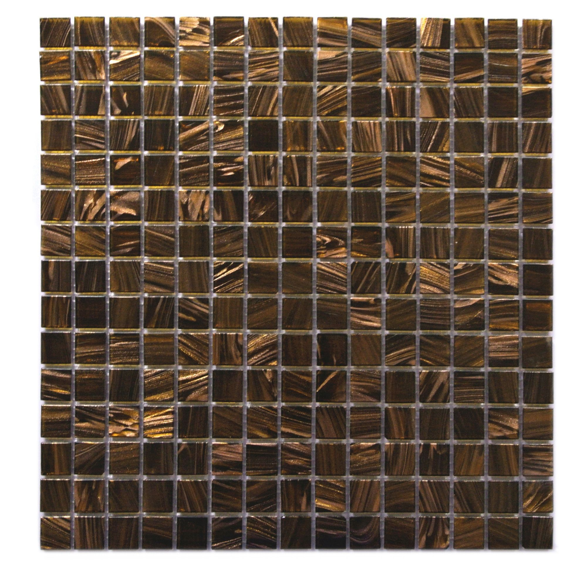 Venus 075 x 075 glass mosaic tile in brown neon mozaic venus 075 x 075 glass mosaic tile in dailygadgetfo Image collections