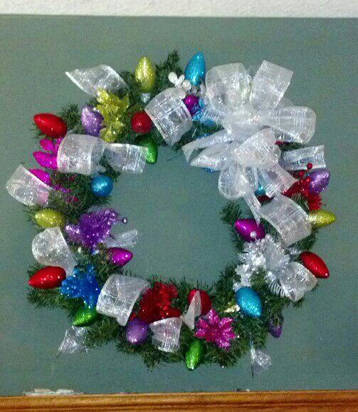Christmas wreath Crafts and DIY Pinterest Wreaths, Craft and - christmas wreath decorations