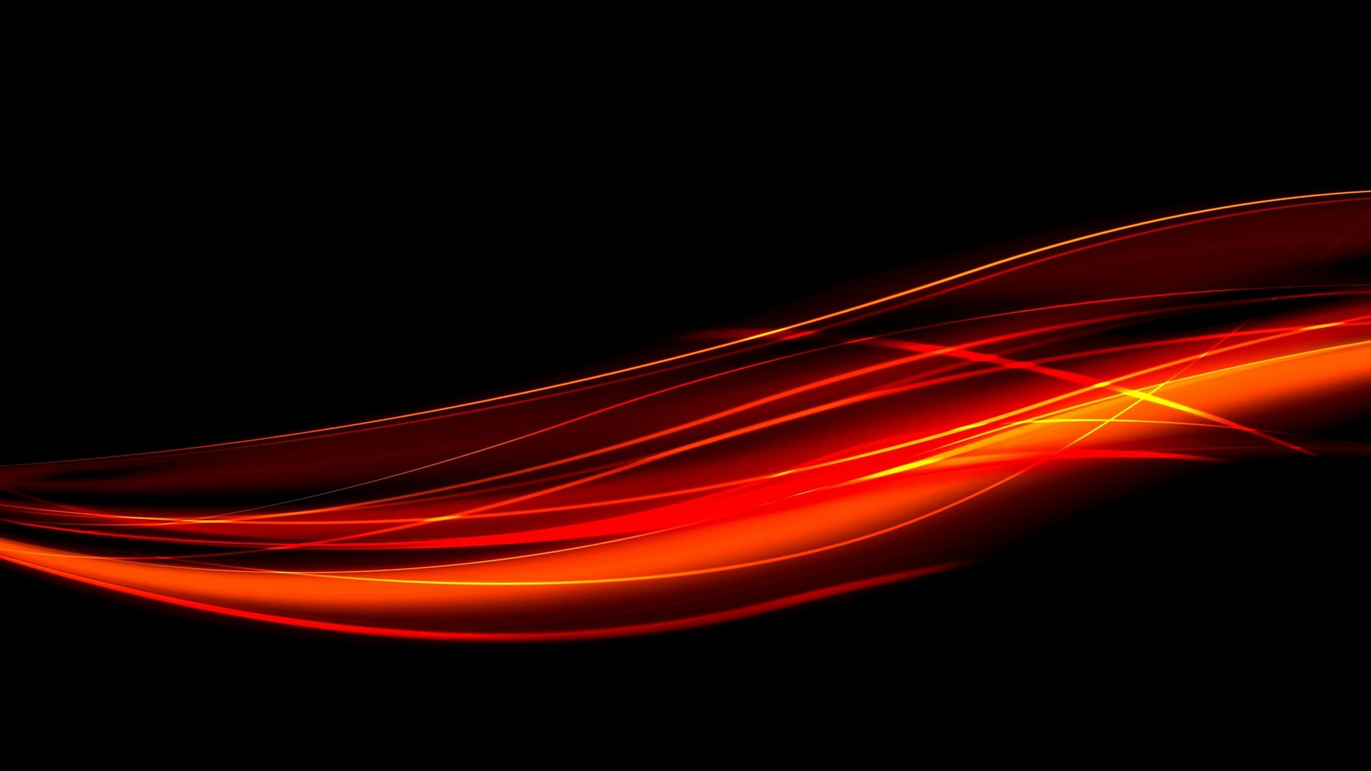 1920x1080 Wallpaper Black Red Line Light In 2020 Red And Black Wallpaper Red Wallpaper Orange Wallpaper