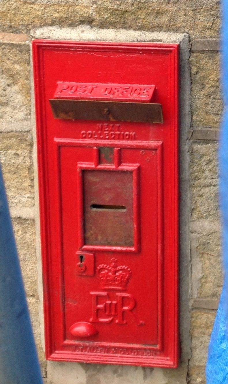 Mellor Lancashire Closed Postbox July 2015 Antique Mailbox Bottle Opener Wall Post Box