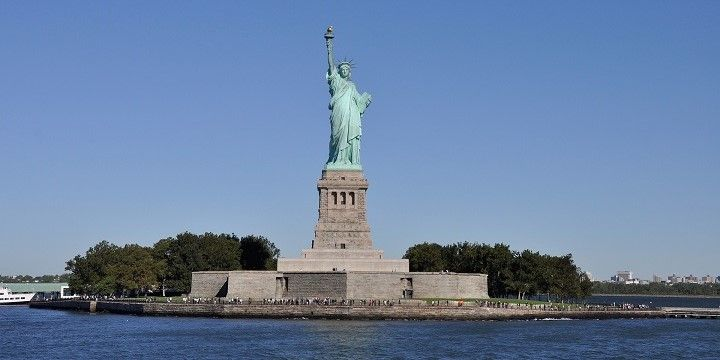 Statue of Liberty, New York City, New York, Mid-Atlantic, USA, North America