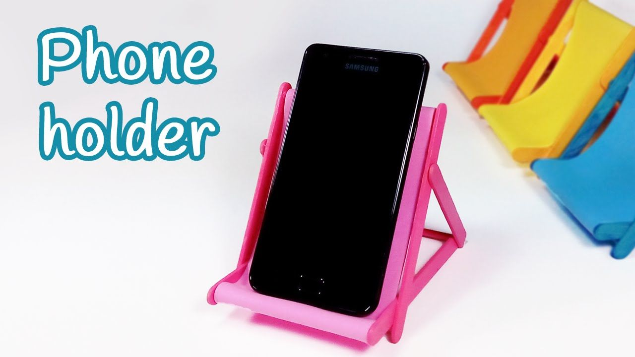 5 Diy Phone Stand You Can Make Easy By Yourself | DIY ...