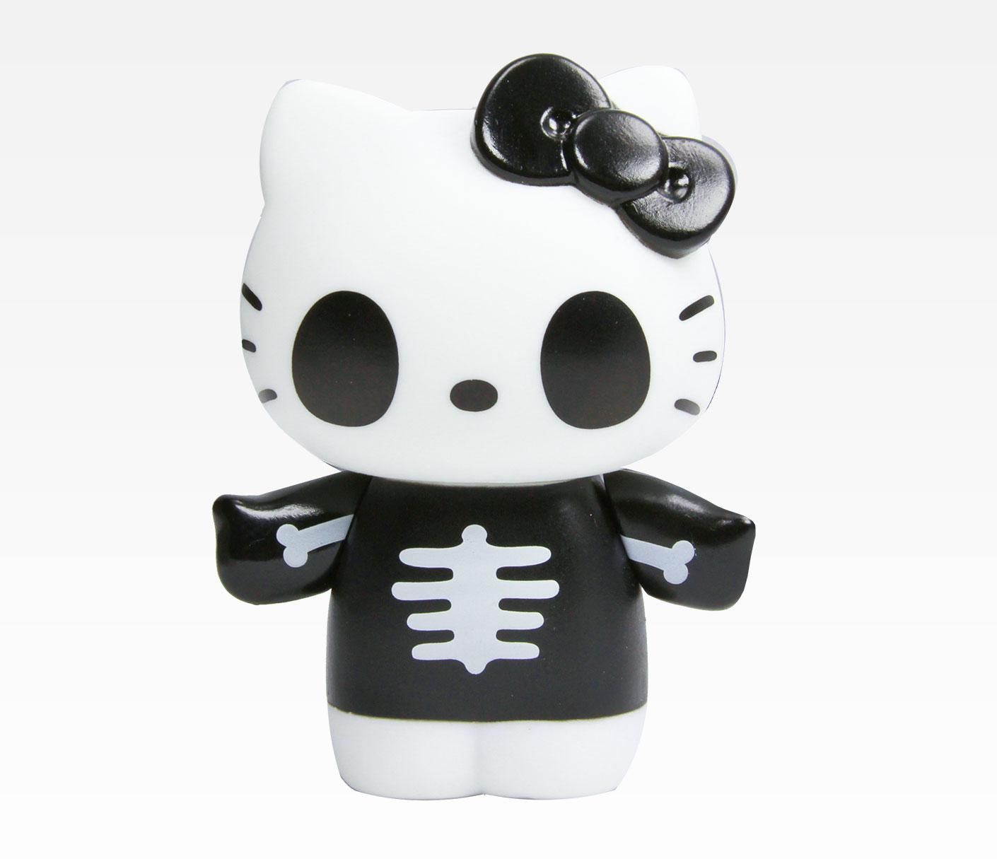 Hello Kitty Collectable Figurine: Skeleton in New + Cool New Arrivals at Sanrio