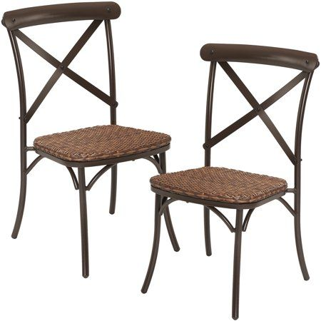 Patio Garden Wicker Dining Chairs Dining Chairs Outdoor