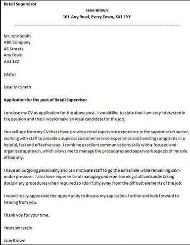 Cover Letter For Retail Jobs  HttpGetresumetemplateInfo