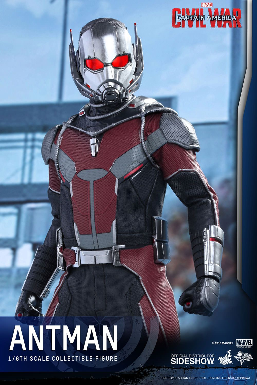 The Hot Toys Ant Man Sixth Scale Figure Is Available At