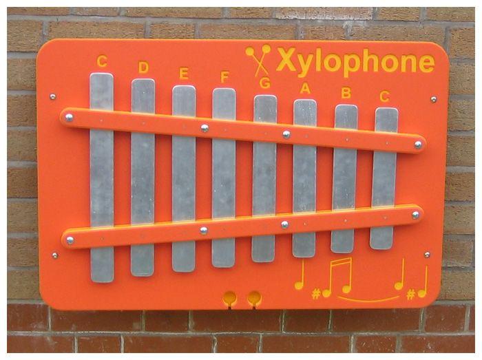 Xylophone Music Panel Wall Mounted School Playground Equipment School Playground Playground Equipment