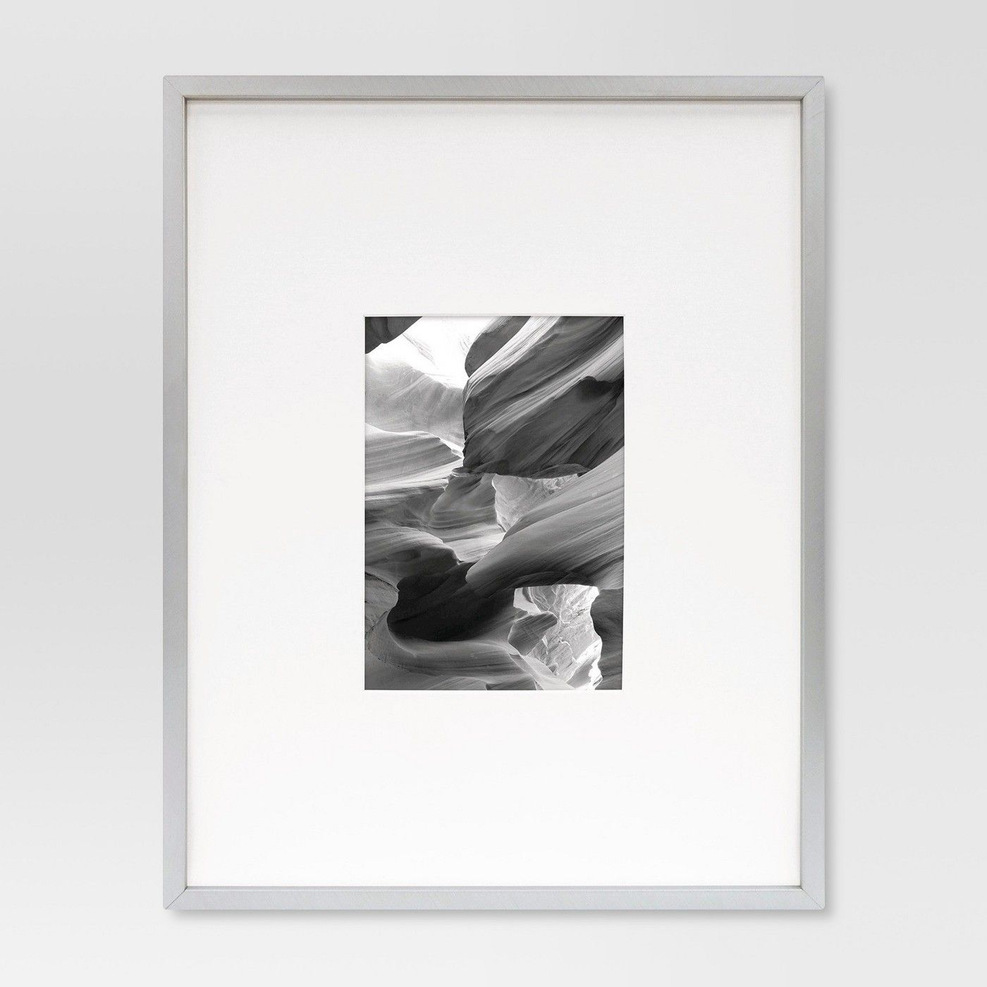 Metal Frame Brushed Silver 11x14 Matted For 5x7 Photo Room Essentials Image 1 Of 5 Photo Room Silver Room Room Essentials
