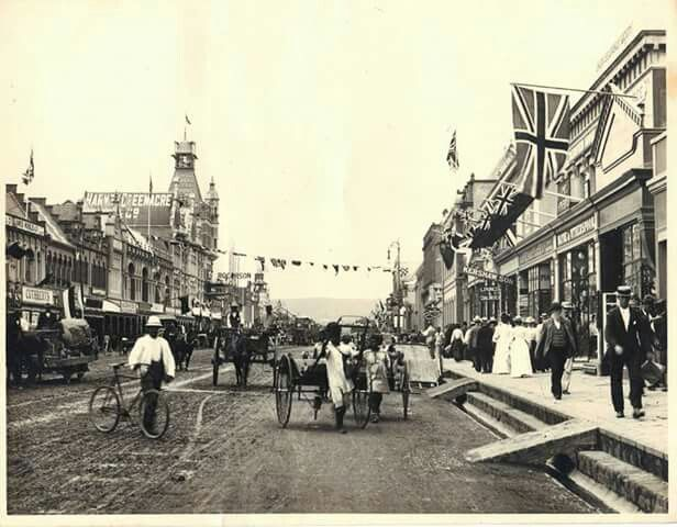 West Street, Durban circa 1890/1900? (With images) | Durban ...