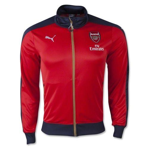 5e427c029 PUMA Men s Arsenal FC Stadium Jacket Red