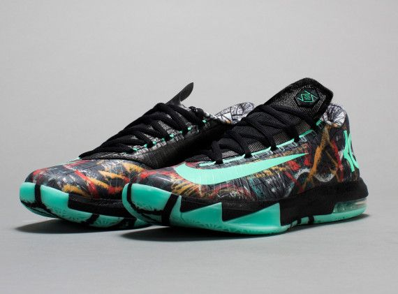 best sneakers 1fa49 356f3 Nike KD 6 Illusion NOLA Gumbo League Collection