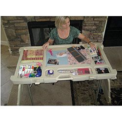 Scrap N Stow Folding Craft Table