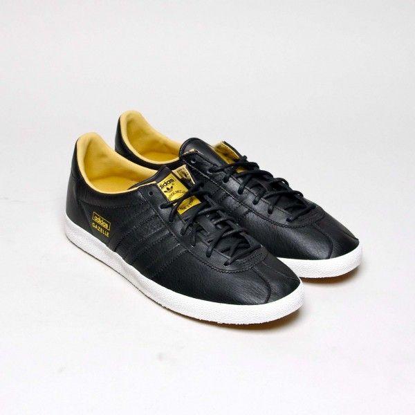acheter populaire 52bef f6dd1 ADIDAS GAZELLE OG CUIR NOIR | Footwear | Adidas gazelle ...