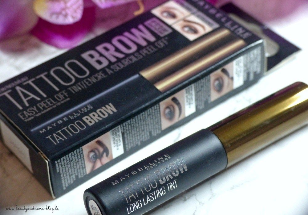 MAYBELLINE NEW YORK TATTOO BROW AUGENBRAUENFARBE New