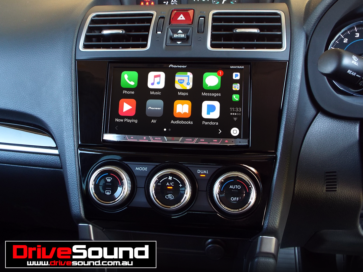 Subaru Forester with Apple CarPlay installed by DriveSound
