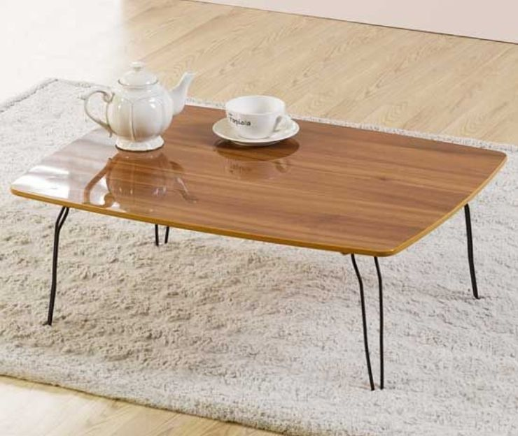Slim Floor Table Folding Japanese Style Low Laptop Computer High Gloss Floor Table Table Asian Furniture