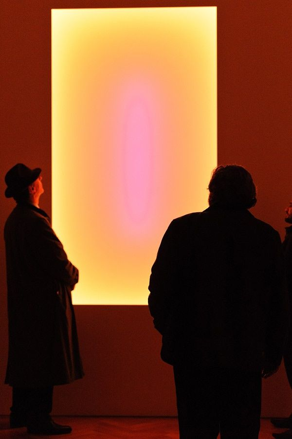 "James Turrell ""Recent Works"" installation view at Pace Gallery, London, 2014"