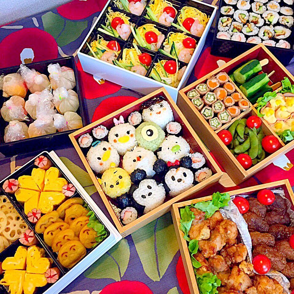 日本のお弁当箱, 日本食のアート, かわいいお弁当, ピクニックの