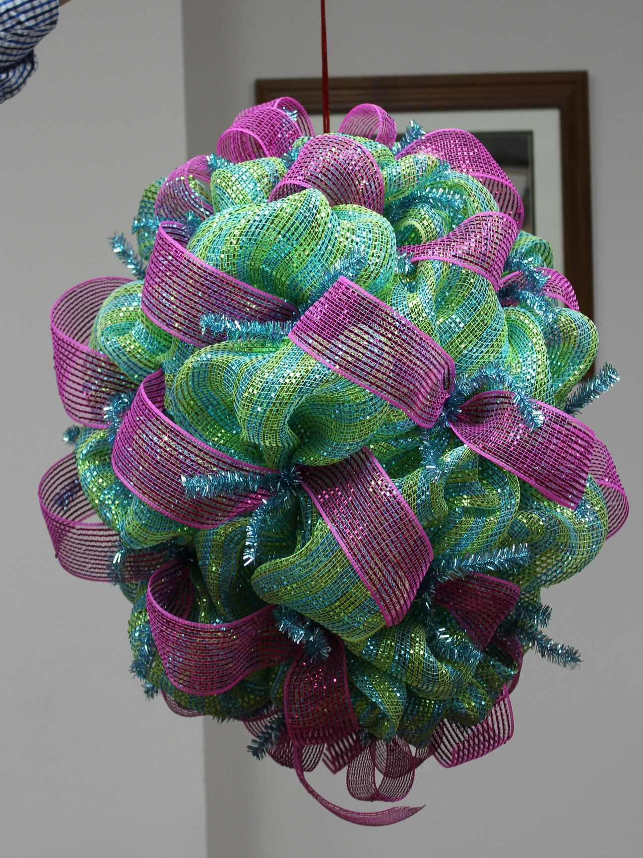Pin by Trendy Tree on Wreath Making Deco mesh crafts