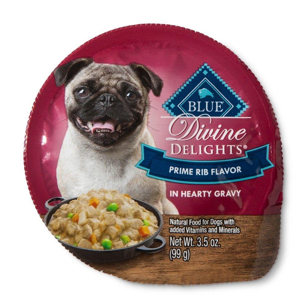 Blue Buffalo Divine Delights Prime Rib Cuts In Gravy Wet Dog