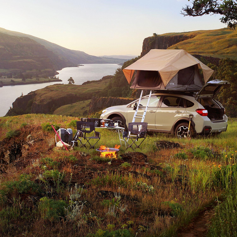 This Roof Rack Will Transform Your Car Subaru Crosstrek Subaru Motorcycle Camping Gear