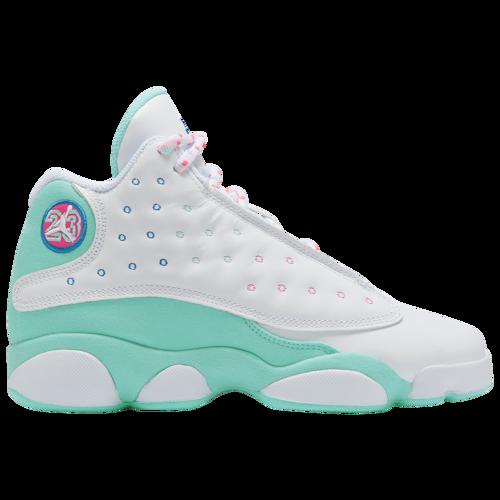Jordan Retro 13 - Girls' Grade School Casual Basketball Shoes ...