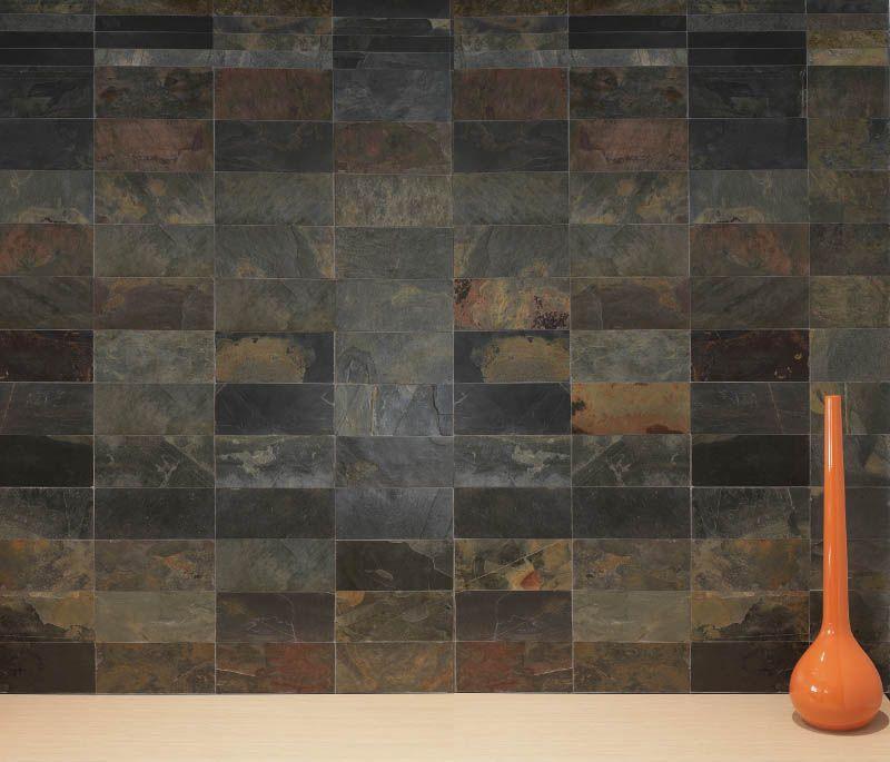 Revestimiento piedra natural nepal 30x60cm azteca jr - Piedra de pizarra ...