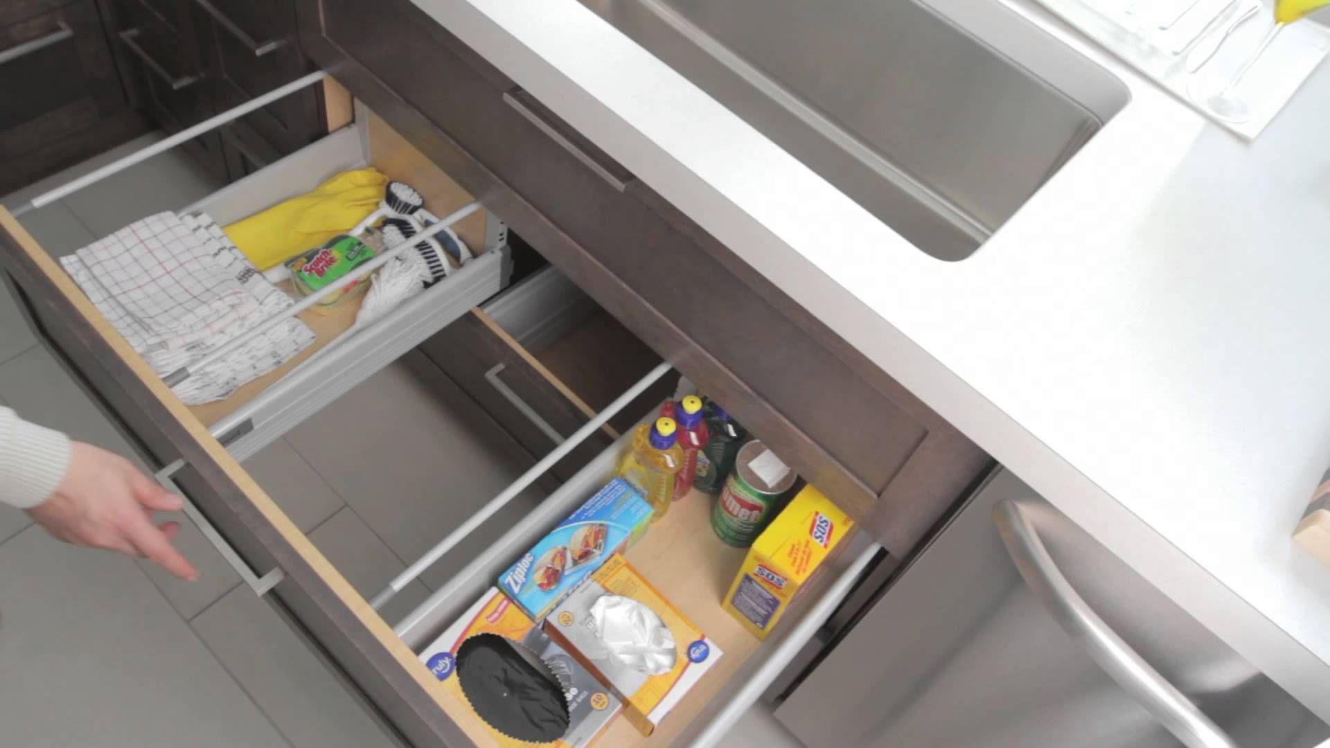 Dans une cuisine le meuble d 39 vier n 39 est jamais des plus pratiques puisqu 39 il est con u d - Tuyauterie evier cuisine ...