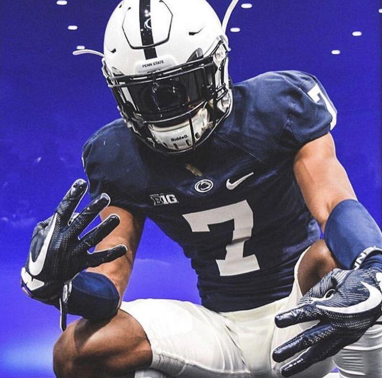 Penn State Nittany Lions Custom Football Visor Football Helmets Football Collage Football