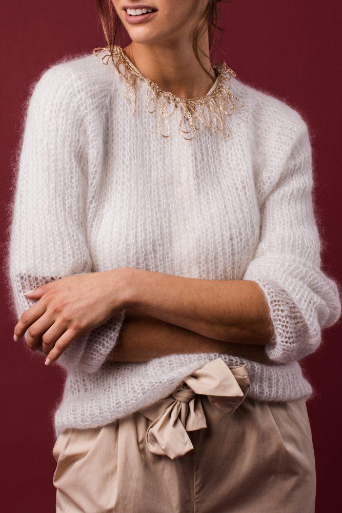 Strickanleitung Für Einen Pullover Kostenlose Anleitung Für Damen