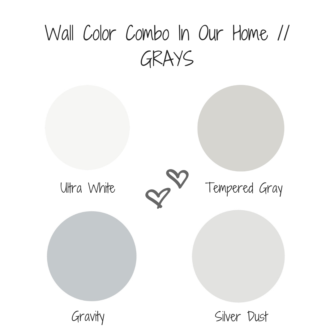 Wall Color Combo Our Home Grays Best Gray Paint Color Valspar Paint Colors Gray Valspar Paint Colors