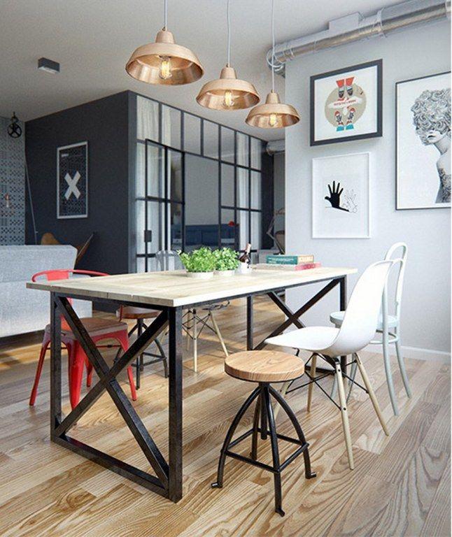 Cozinha sala de jantar sala de estar tudo junto e for Sala de estar funcional