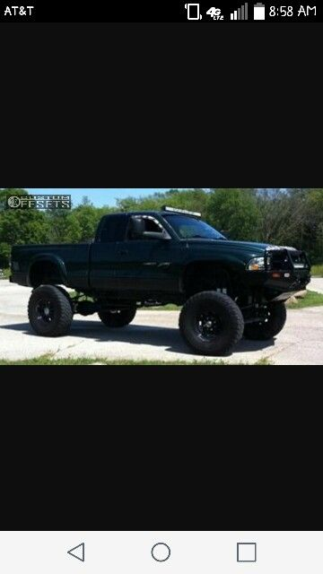 Lifted dodge dakota light bar blacked out trucks pinterest lifted dodge dakota light bar blacked out aloadofball Image collections