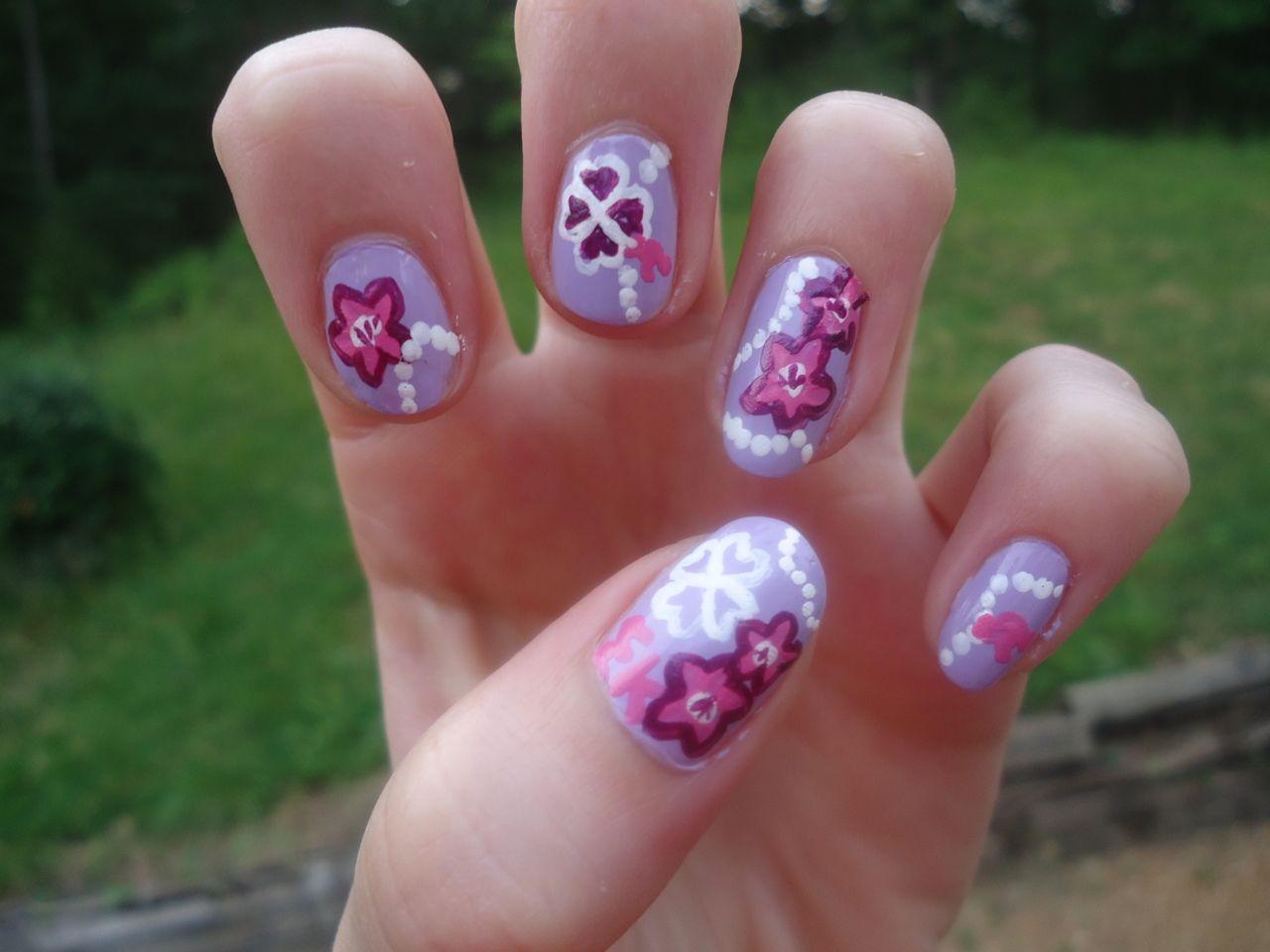 Sigma Kappa Lilly nails!