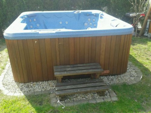 Whirlpool für den Außenbereich Gartenfreude Pinterest - outdoor whirlpool garten spass bilder