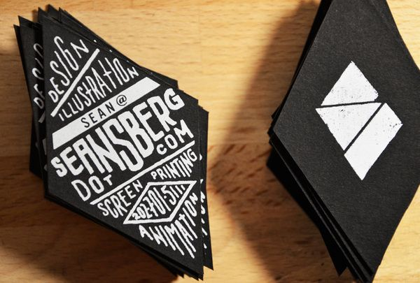 Personal business cards by sean berg via behance artsy personal business cards by sean berg via behance colourmoves