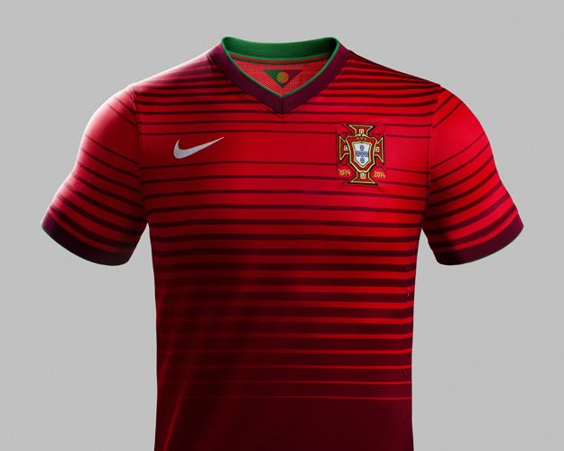 sneakers for cheap b3a1f 1bc9a New Portugal National Team Kits (Home) | Soccer ...
