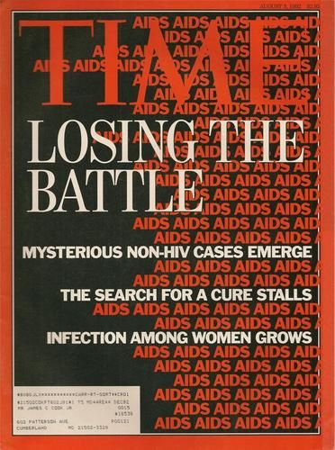 TIME MAGAZINE ~ AUGUST 3 1992 ~ 8/3/92 ~ LOSING THE BATTLE HIV AIDS VIRUS