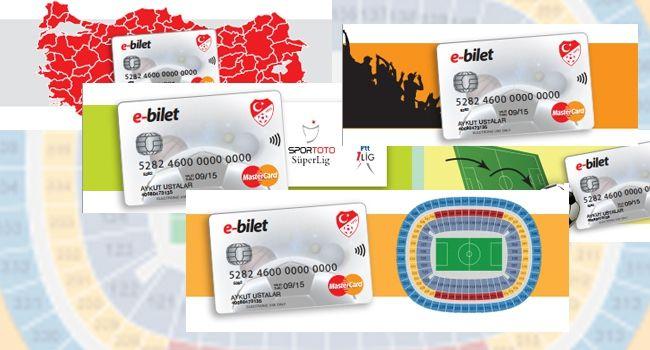 E-bilet uygulaması başlıyor Tüm Süper Lig ve 1. Lig maçlarına girişte elektronik bilet
