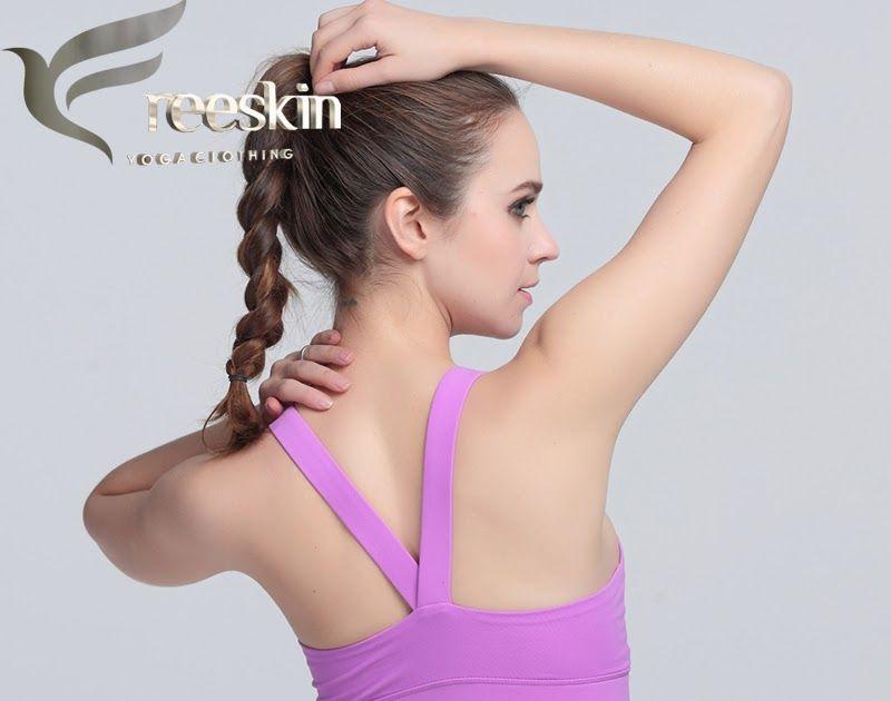 fa3447b6e9c84 Promo Offer Freeskin Women Yoga Bra Plus Size Patchwork Sports Bra Gym  Cross Backless Bra Yoga Padded Mujer Strappy Cropped Top Fitness