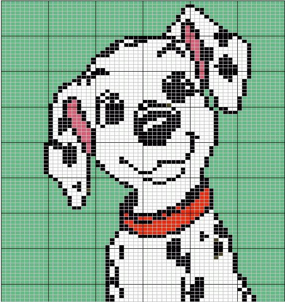 Disney Cross Stitch Tricot Et Crochet Grille Tricot Et