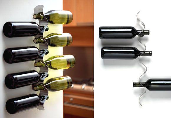 Botellero de pared diy pinterest wijnrek muur wijnrekken en muur - Botellero de pared ...